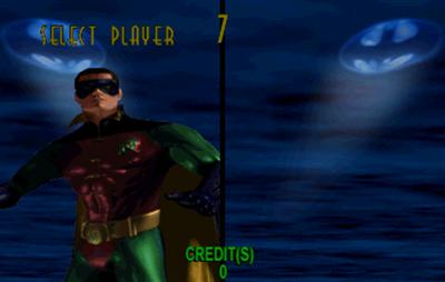 Batman Forever - Screenshot - Game Select