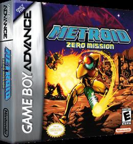 Metroid: Zero Mission - Box - 3D