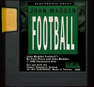 John Madden Football - Cart - Front