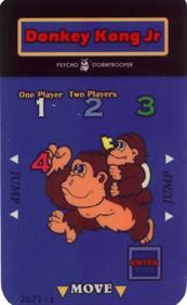 Donkey Kong Junior - Arcade - Controls Information