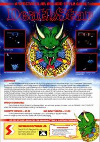 Deathstar - Advertisement Flyer - Front