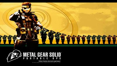 Metal Gear Solid: Portable Ops - Fanart - Background