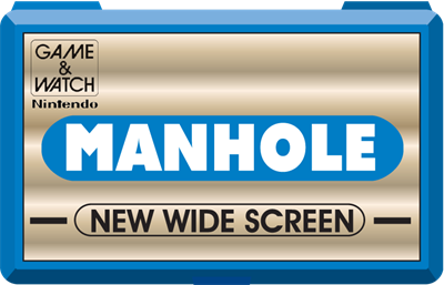 Manhole (New Wide Screen) - Fanart - Cart - Front