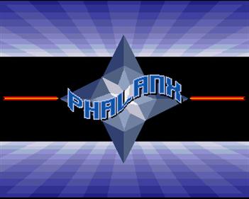 Phalanx - Screenshot - Game Title