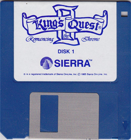 King's Quest II: Romancing the Throne - Disc