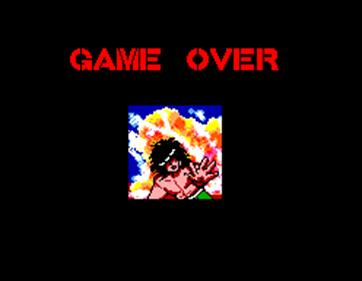 Double Hawk - Screenshot - Game Over