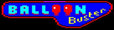 Balloon Buster - Clear Logo