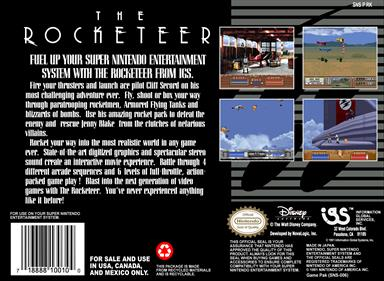 The Rocketeer - Box - Back