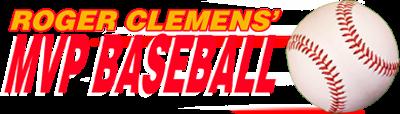 Roger Clemens' MVP Baseball - Clear Logo