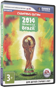 2014 FIFA World Cup Brazil - Box - 3D