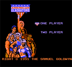 American Gladiators - Screenshot - Game Title