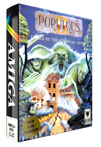 Populous 2: Trials of the Olympian Gods Details - LaunchBox