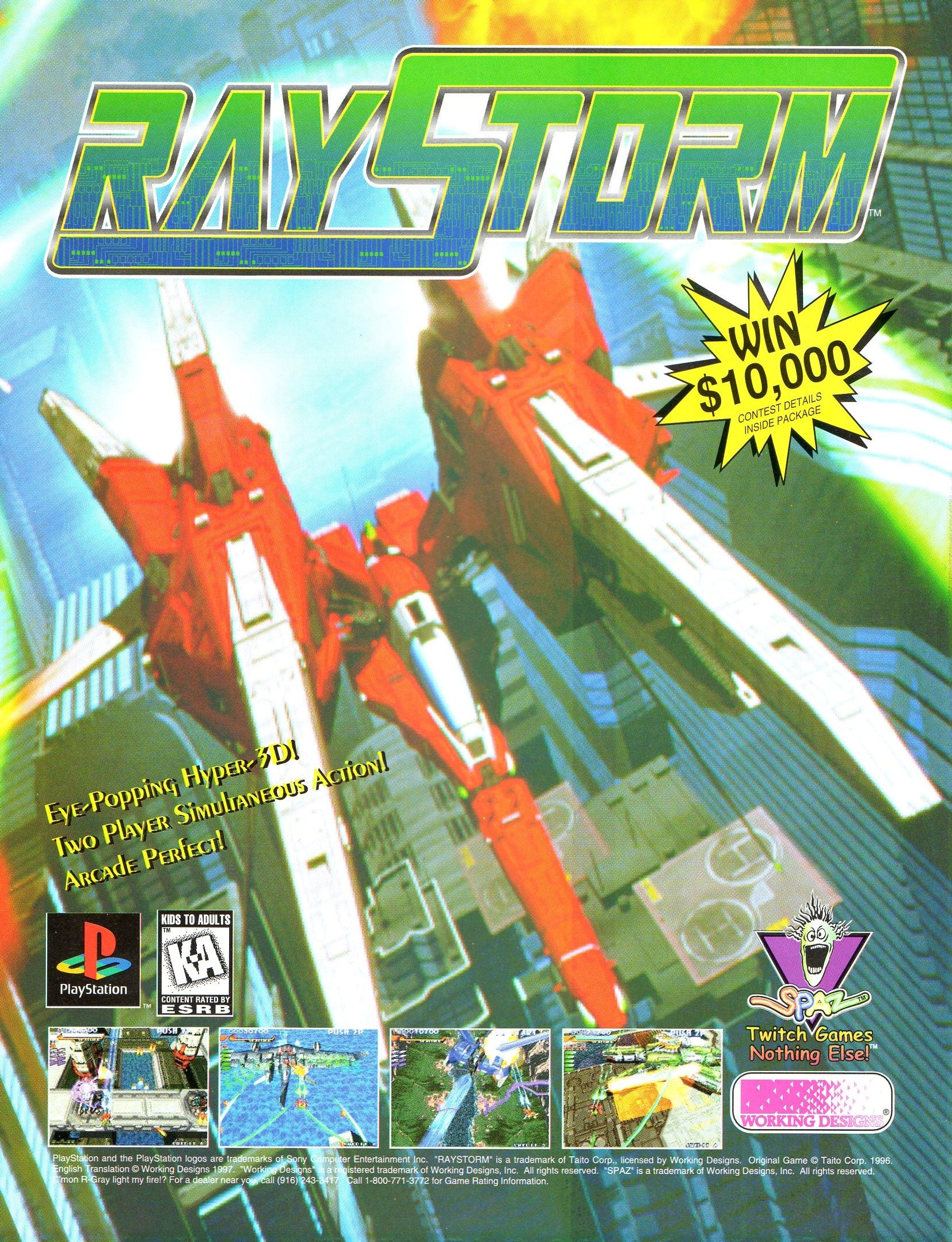 RayStorm Details - LaunchBox Games Database