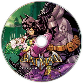 Batman: Arkham Asylum - Fanart - Disc