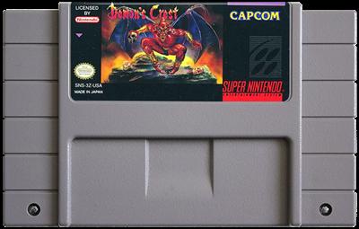 Demon's Crest - Fanart - Cart - Front