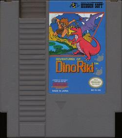 Adventures of Dino Riki - Cart - Front