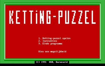 Ketting-Puzzel - Screenshot - Game Title