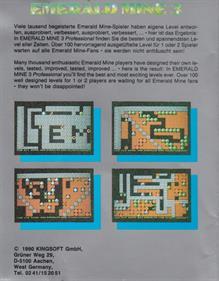 Emerald Mine 3 Professional - Box - Back