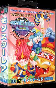 Wonder Boy III: Monster Lair - Box - 3D