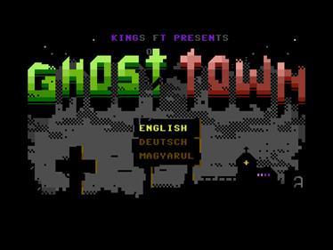 Ghost Town Plus - Screenshot - Game Select