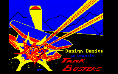 Tank Busters - Screenshot - Game Title