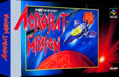 Acrobat Mission - Box - 3D