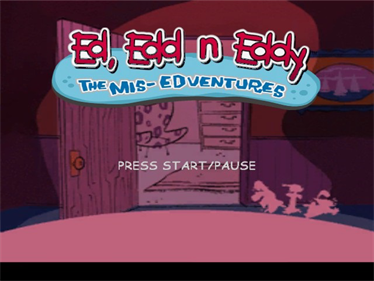 Ed, Edd n Eddy: The Mis-Edventures - Screenshot - Game Title