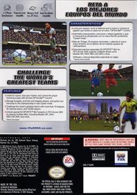 FIFA Soccer 2004 - Box - Back