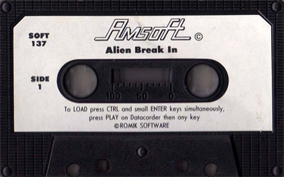Alien Break-In - Cart - Front