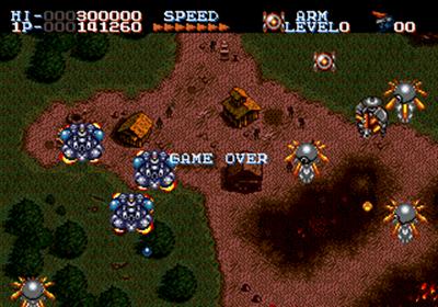 Robo Aleste - Screenshot - Game Over
