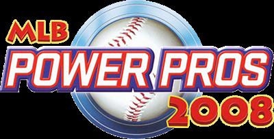 MLB Power Pros 2008 - Clear Logo