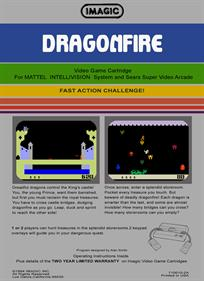 Dragonfire - Box - Back