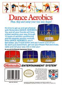 Dance Aerobics - Box - Back