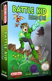 Battle Kid: Fortress of Peril - Box - 3D