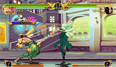 JoJo's Venture - Screenshot - Gameplay