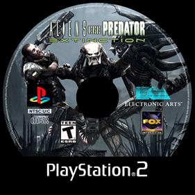 Aliens Versus Predator: Extinction - Fanart - Disc