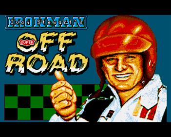 """Ivan """"Ironman"""" Stewart's Super Off Road - Screenshot - Game Title"""