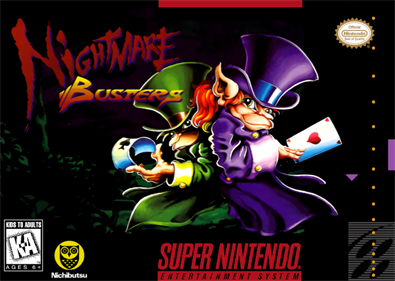 Nightmare Busters - Fanart - Box - Front