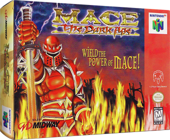 Mace: The Dark Age - Box - 3D