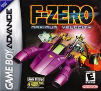 F-Zero: Maximum Velocity - Box - Front - Reconstructed