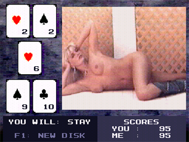 Playboy Strippoker - Screenshot - Gameplay