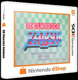 3D Classics: Xevious - Box - 3D