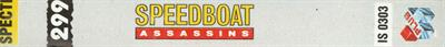 Speedboat Assassins - Banner