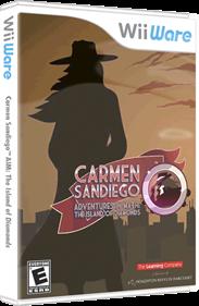 Carmen Sandiego Adventures in Math: The Island of Diamonds - Box - 3D