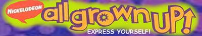 All Grown Up! Express Yourself - Banner
