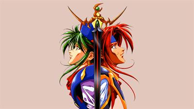 Emerald Dragon - Fanart - Background