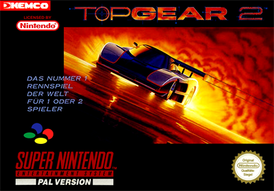 Top Gear 2 - Box - Front