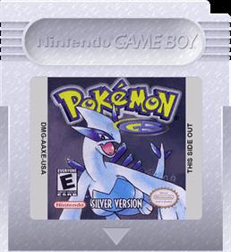 Pokémon Silver Version - Fanart - Cart - Front