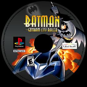 Batman: Gotham City Racer - Fanart - Disc