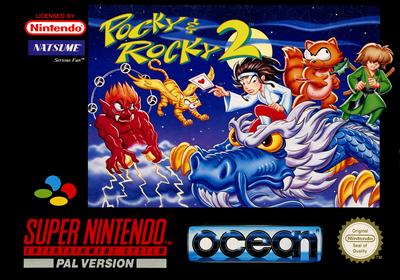 Pocky & Rocky 2 - Box - Front
